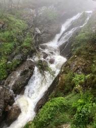Tyssvikjofossen Waterfall, Eidfjord, Norway