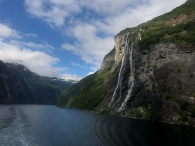 Unknown Falls, Geiranger Fjord, Norway