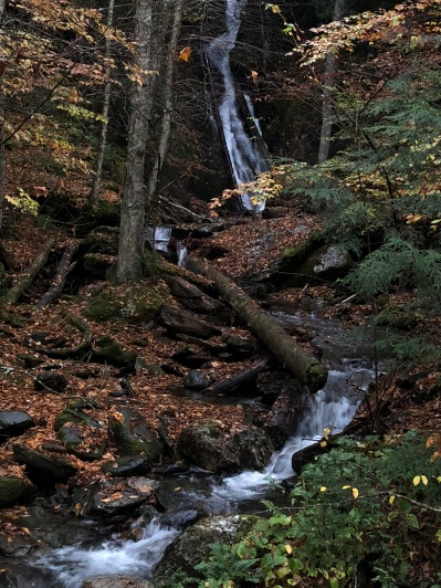 Little Moss Glenn Falls, Granville, VT