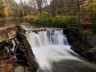 Lower Village Falls, Stowe, VT