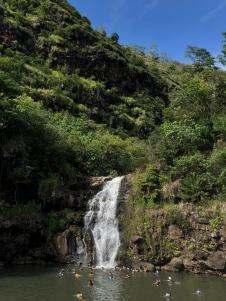Waimea Falls, Waimea Valley, Oahu, Hawaii
