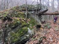 McMansion-sized boulder